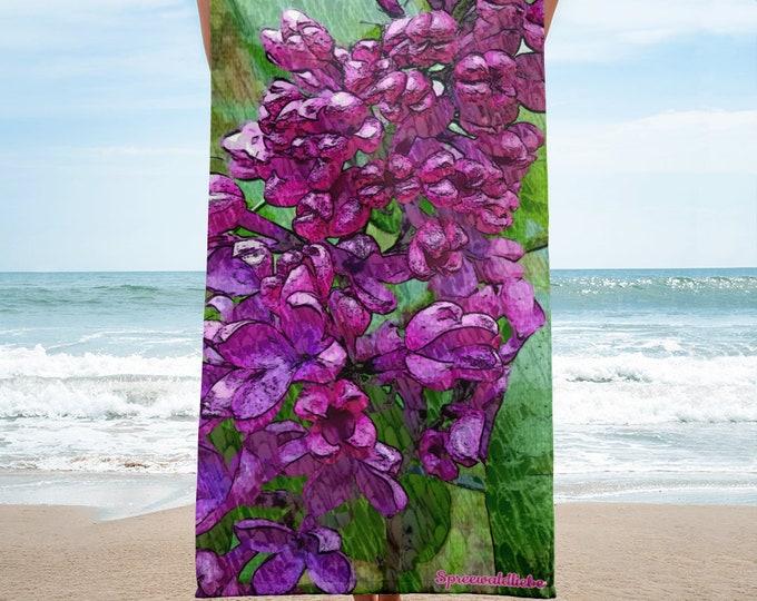 Towel - Wild Lilac - Spreewaldliebe