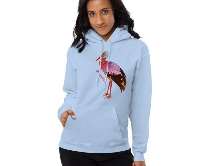 Ladies fleece hoodie - Storck - Spreewaldliebe