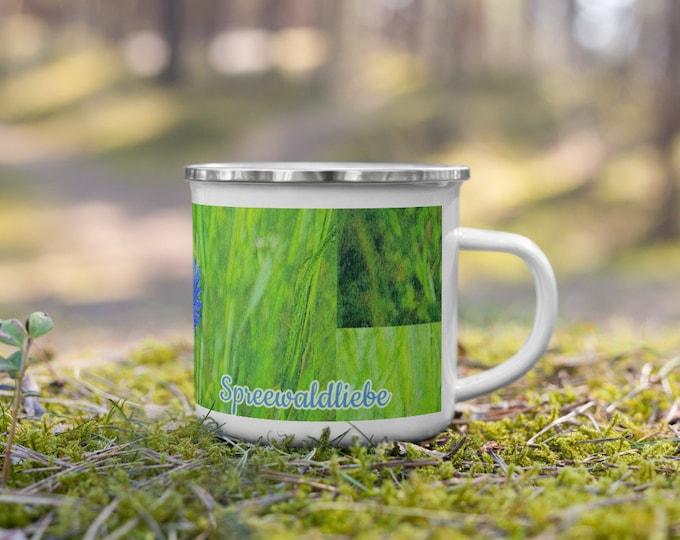 Enamel Mug - Cornflower - Spreewaldliebe