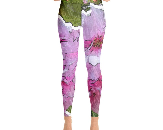 Woman Leggings - Cherry Blossom - Spreewaldliebe