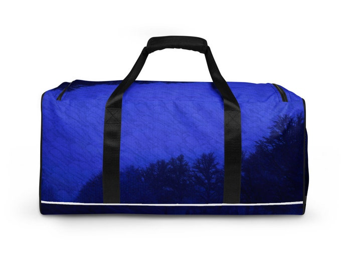 Duffle bag - Foggy Forest