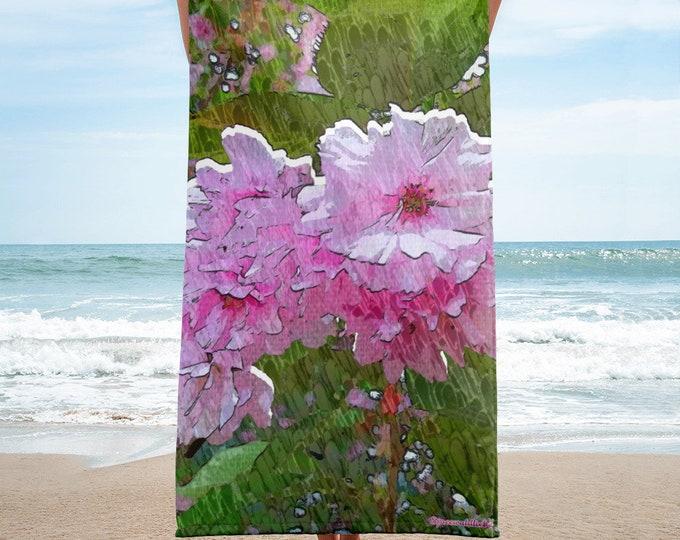 Towel - Cherry Blossom Art - Spreewaldliebe