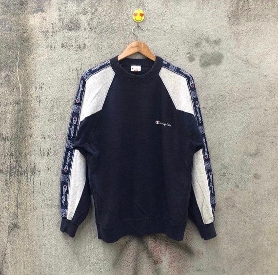 Vintage 90s champion side tape sweatshirt pullover