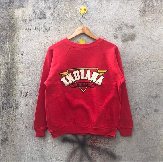 Vintage 80s indiana university sweatshirt pullover