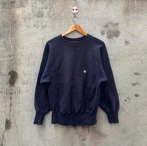 Vintage 90s champion reverse weave sweatshirt pul… - image 1