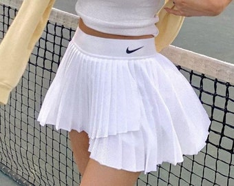 Nike reworked tennis skirt  | y2k fashion tennis skirt skort