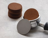 58.5mm (Standard) 53.5mm (Breville Sage) 51mm Puck screen Puck Mesh, 50 150 Micron Dual Layer, 1.7mm Thick w Optional Stand