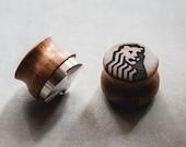 58.3mm 53mm Distributor Leveller OCD for Espresso Coffee Wood - Custom Engraved
