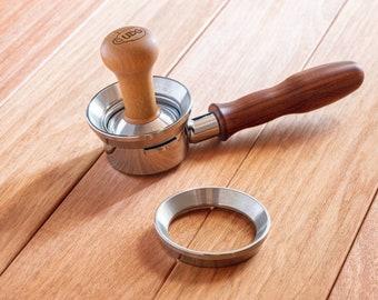 Tamp Through 58mm Steel Dosing Ring / Funnel