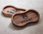 Wood Tray Holder Stand for Espresso Tamper and Distributor OCD (Custom Engraved)