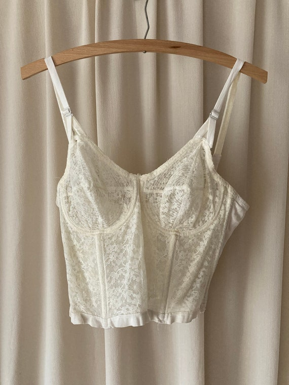 1950s Vintage Hollywood-Maxwell Whirlpool White L… - image 2