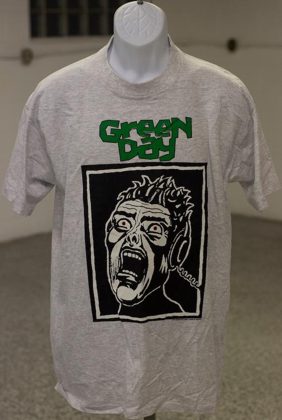 NOS Green Day Basket Case Brockum T Shirt 1994 Lar