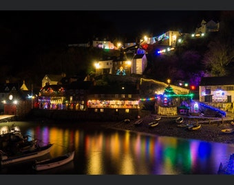 Colourful Clovelly Prints