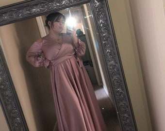 Plus size cocktail dress Plus size bridesmaid Plus size formal dress Maxi bridesmaid dress