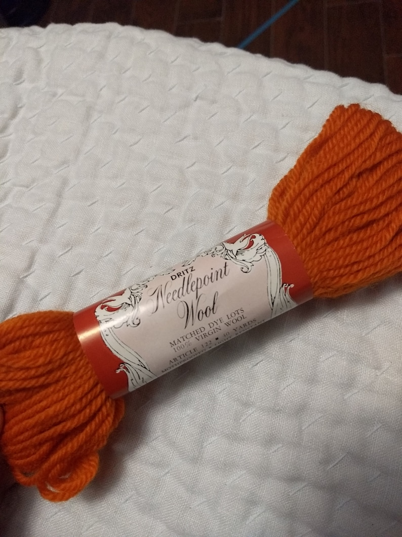 Needlepoint Yarn