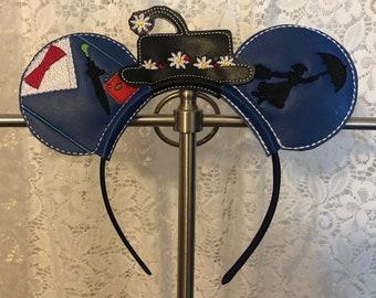 Mary Poppins Mickey Ears