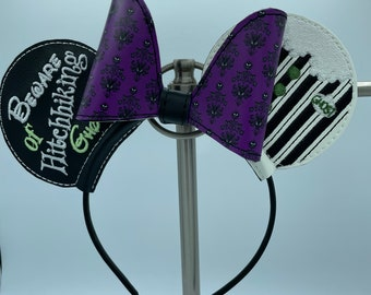 Glow in the Dark Haunted Mansion Mouse ears