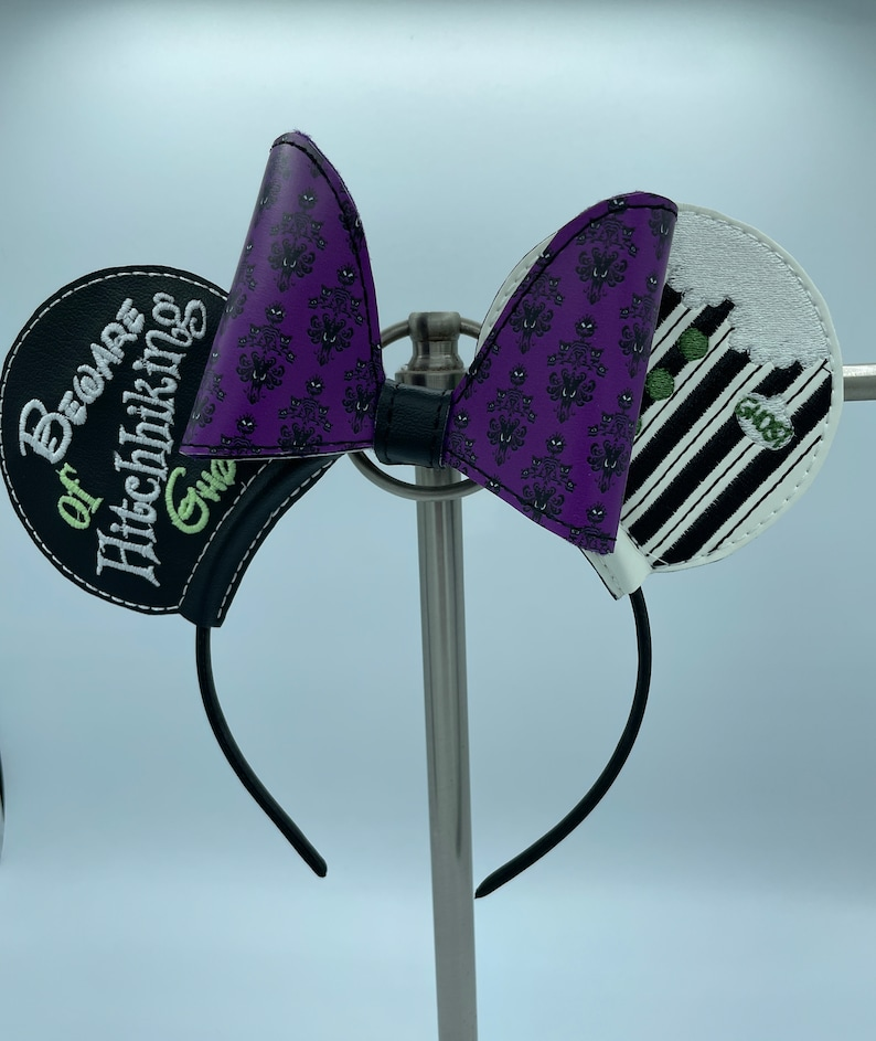 Glow in the Dark Haunted Mansion Mouse ears image 1