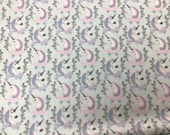 Unicorn Fabric 100% Cotton