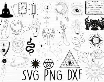 Mystical SVG Mystic SVG Bundle Big Bundle SVG file for Cricut Digital Download