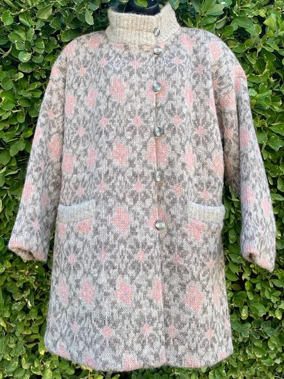 Hilda Ltd Vintage 1970s Wool Coat, Oversize Coat,