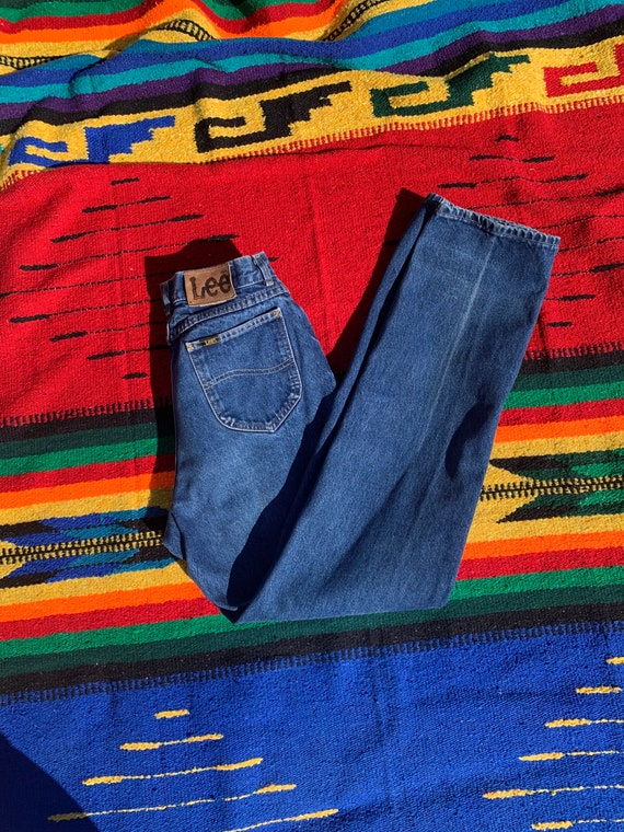 Vintage 70s-80s Lee Jeans, High Waisted Mom Jeans