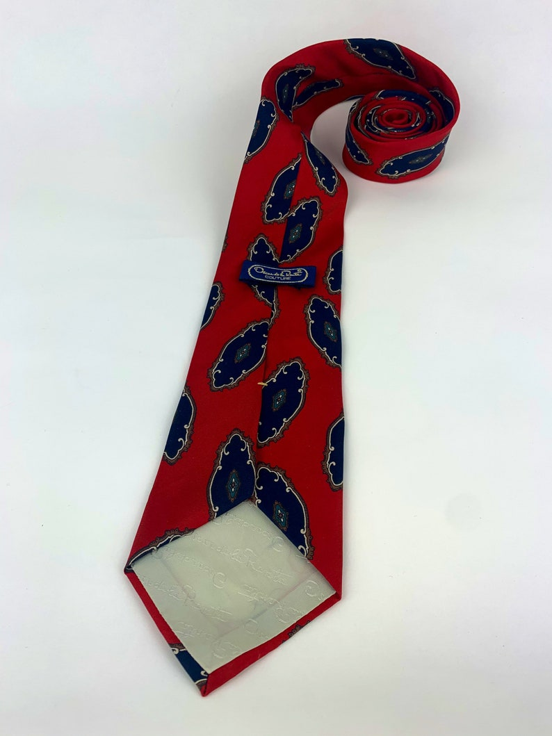 Vintage Oscar De La Renta Tie