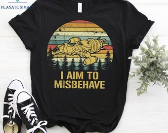 Firefly Shirt I Am To Misbehave Womens Off The Shoulder Slouchy Tee