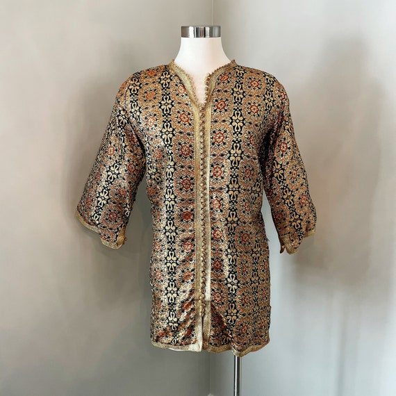 Gold Embroidered Tunic - Greece or Turkey - Authen
