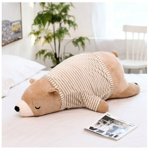 storybook nursery three bears plush Goldilocks baby bear plush baby bear pillow goldilocks bear Riley Blake Goldilocks pouty bear