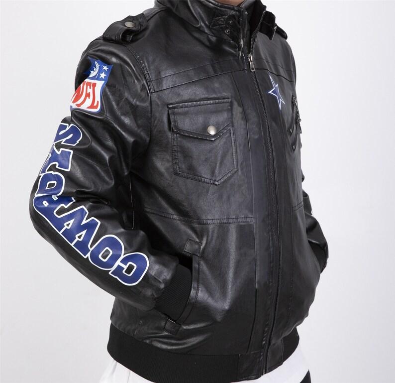 Dallas Cowboys Leather Jacket,Dallas Cowboys Logo,Hoodie Sweatshirt,NFL Logo,Moto Jacket,Men Leather Jacket,football jacket,jacket,nfl logo
