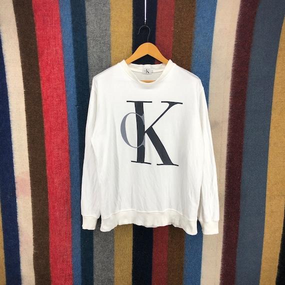 Vintage CALVIN KLEIN JEANS Reg In Usa Sweatshirt P