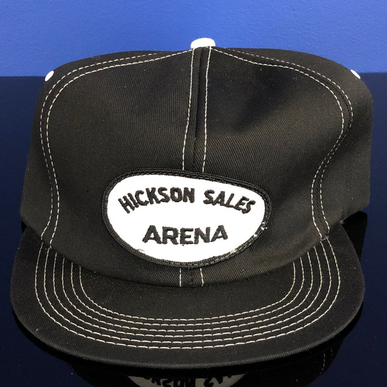 Vintage 1980/'s 1990/'s T-Shirts vtg 90/'s HICKSON Sales Arena ONTARIO Canada K-Brand Snapback Trucker Cap Hat NOS
