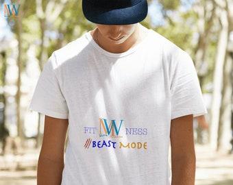 Men's Fitness T-Shirt - MW-Elite Fitness Shirt - Sport Leisure Shirt