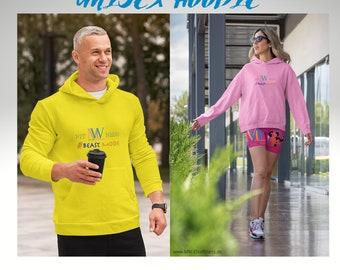 Men's Hoodie - Hoodie - Women's Hoodie - Fitness - MW-Elitefitness