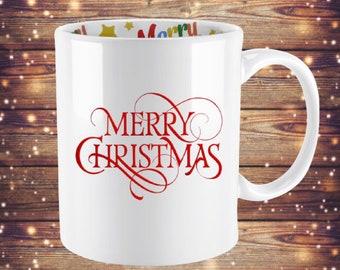 Christmas Coffee Mugs - Merry Christmas - Funny Christmas Mugs