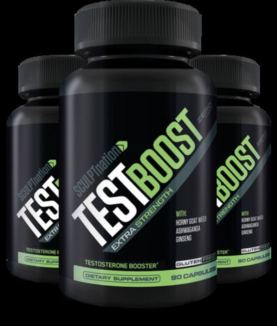 SCULPTnation TestBoost 270 Capsules. 270 capsule Test BOOST Dietary Supplements