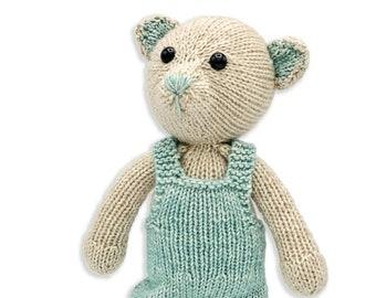 Hardicraft, knitting kit, John the Pooh knitting kit, John bear, complete knitting kit, creative hobbies, knitting, knitting, knitting kit, craft