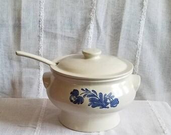 Vintage Pfaltzgraff Bowl Vintage Serving Dish by Pfaltzgraff Vintage Decorative Bowl Vintage Pfaltzgraff Yorktowne Bowl