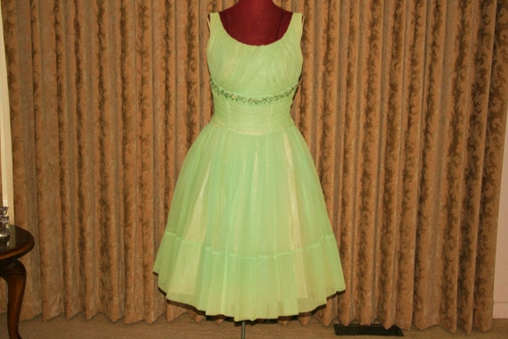 Vintage 50s Lucy full party dress - image 1