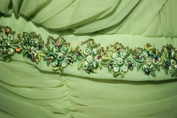Vintage 50s Lucy full party dress - image 3