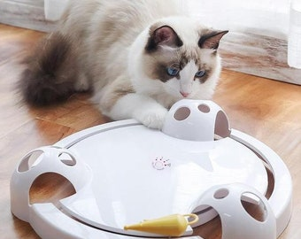 Cat Toy | Fully Automatic Kitty Toy Gift for Pet Owners