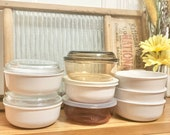 Vintage Corning Ware Pyrex VISION Grab-It Set of 1, 2 or 3 Heat n Eat Grab-It 150-B 0.4L (Multiple Available)