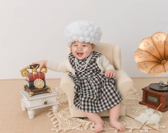 Halloween old lady costume SET fits ages 5m-7y