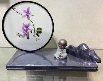 Minimalist easy embroidery flower landscape handicraft orientalist art ornament personalised gifts home decor