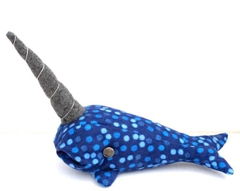 Narwhal/Whale Sewing Kit