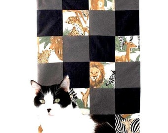 Doll Quilt (Cat not included) Sewing Kit