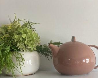 Vintage Porcelain Teapot, Teapot Vintage