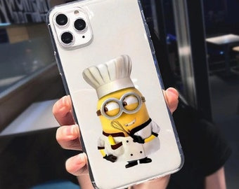 Minion iphone case | Etsy