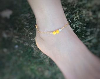 Child Ankle Bracelet I Love You